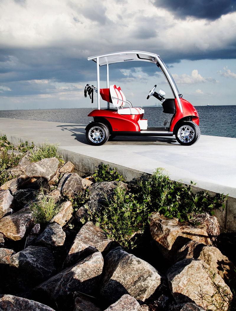Garia: luxusní vozík pro milovníky golfu: - fotka 15