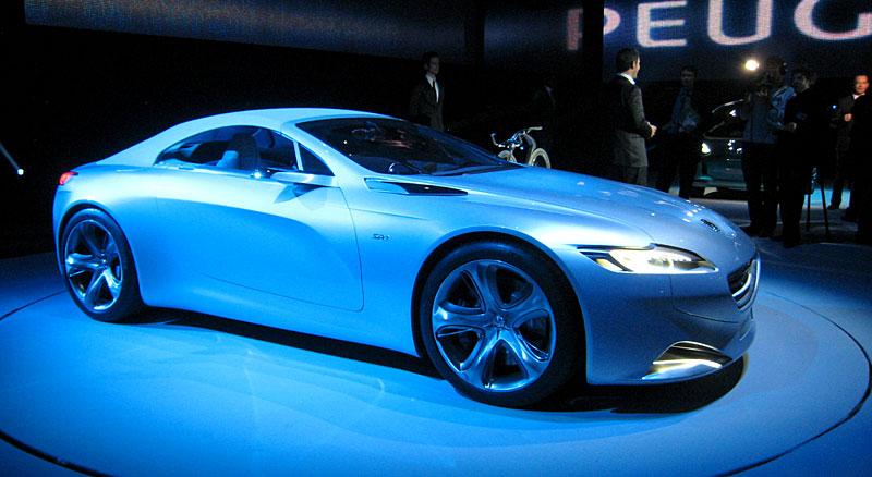 Koncept SR1: nová image Peugeotu přichází: - fotka 28