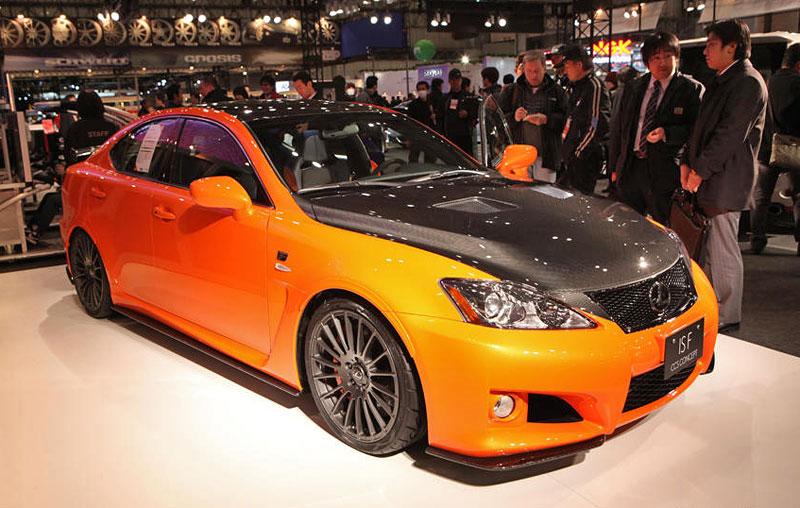Lexus: IS F jako odlehčený speciál: - fotka 7