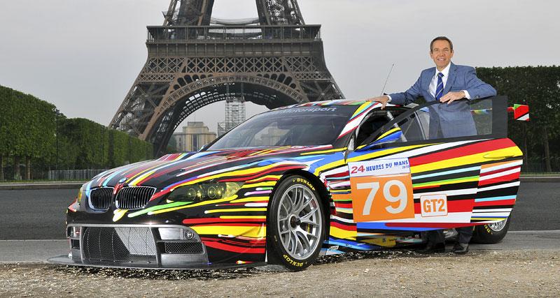 BMW Art Car na Le Mans: galerie na čtyřech kolech: - fotka 4