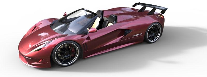 TranStar Dagger GT: supersport s výkonem 2000 koní: - fotka 7