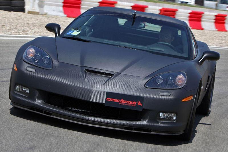 Corvette Z06 Romeo Ferraris: hamburger se špagetami: - fotka 10