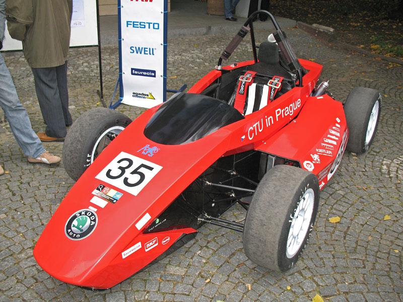 CTU CarTech FS.02: Studentská formule z pražského ČVUT: - fotka 8