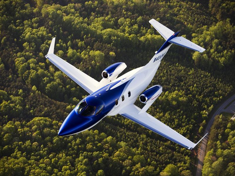 Letadélko od Hondy se blíží: HondaJet finišuje!: - fotka 5