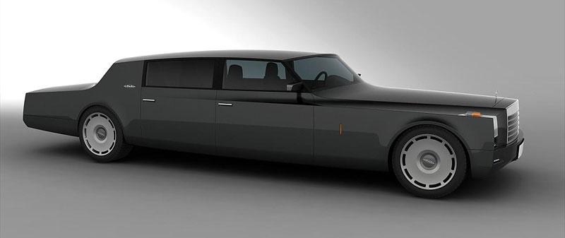 ZiL Concept: budoucnost prezidentských limuzín: - fotka 4