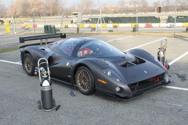Ferrari P4/5 Competizione poprvé na trati: - fotka 6
