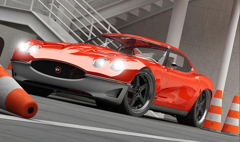Growler E-Concept: Jaguar E Type 50 let poté: - fotka 3