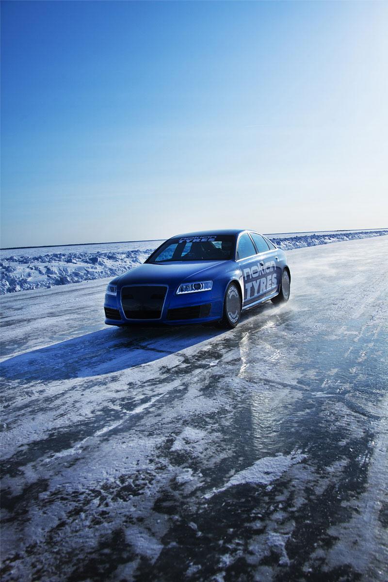 Nokian Tyres: rychlostní rekord Bentleye na ledu překonán!: - fotka 7
