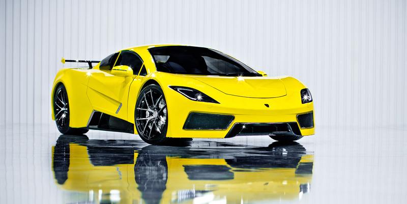 Arash AF8: Britský supersport se 7,0 V8 (410 kW): - fotka 7