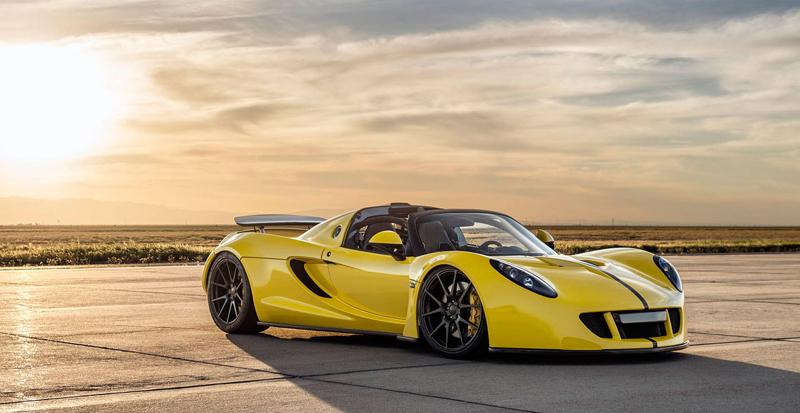 Hennessey Venom GT Spyder je nejrychlejší kabriolet na světě: - fotka 9