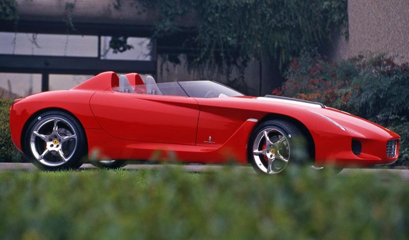 Pod lupou: Pininfarina Ferrari Rossa (2000) - Speedster k narozeninám: - fotka 6