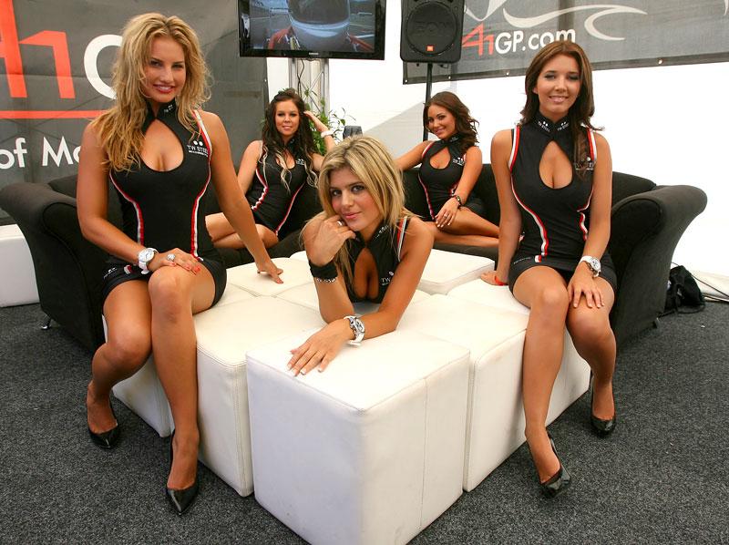 A1GP Grid Girls 2008/2009: - fotka 15