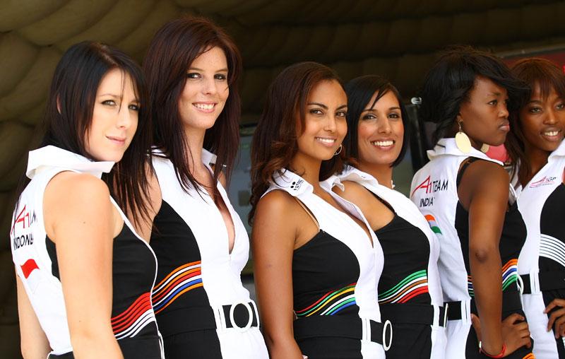 A1GP Grid Girls 2008/2009: - fotka 36