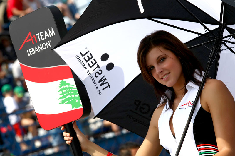 A1GP Grid Girls 2008/2009: - fotka 39
