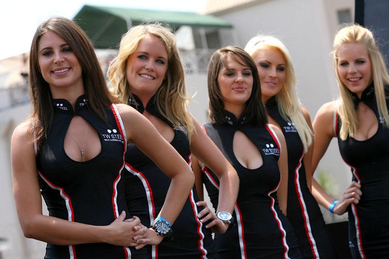A1GP Grid Girls 2008/2009: - fotka 45