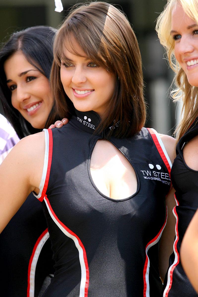 A1GP Grid Girls 2008/2009: - fotka 49
