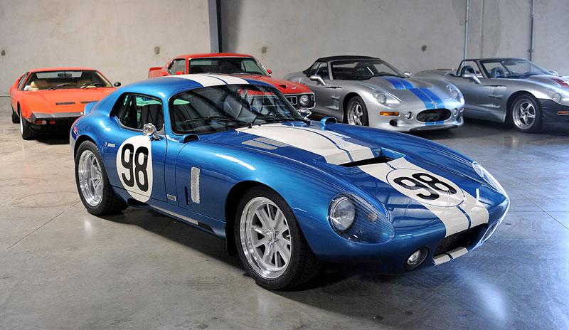 Shelby Cobra Daytona Coupe MKII: modernizovaná klasika: - fotka 4