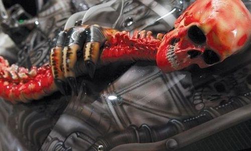 Dvoukolový Predátor: maximálně děsivá motorka!: - fotka 4