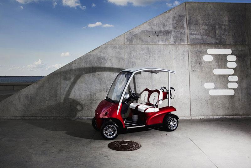 Garia: luxusní vozík pro milovníky golfu: - fotka 16