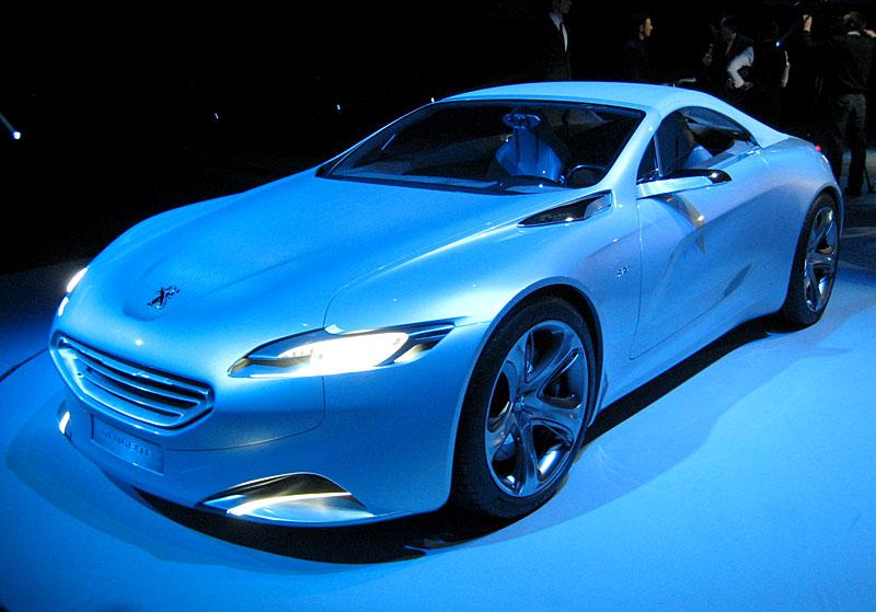 Koncept SR1: nová image Peugeotu přichází: - fotka 29