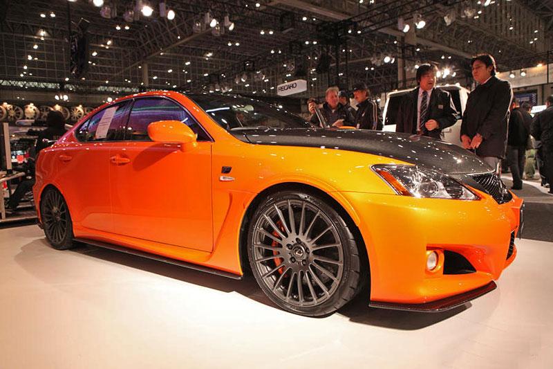 Lexus: IS F jako odlehčený speciál: - fotka 8