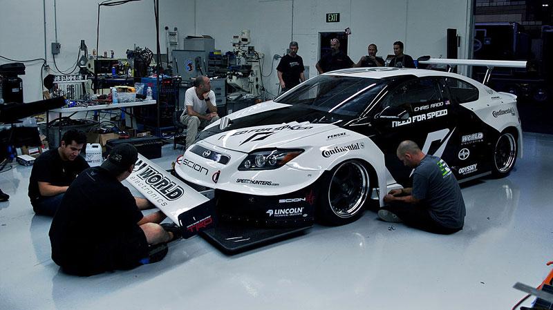 Scion tC Need for Speed Racing: 1100 koní a pohon všech kol: - fotka 6