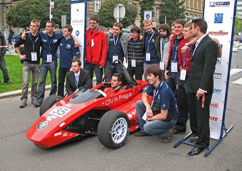 CTU CarTech FS.02: Studentská formule z pražského ČVUT: - fotka 9
