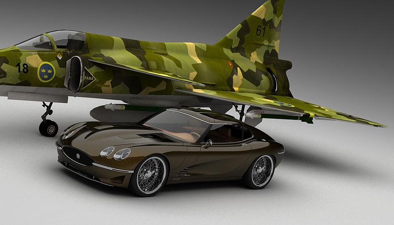 Growler E-Concept: Jaguar E Type 50 let poté: - fotka 4