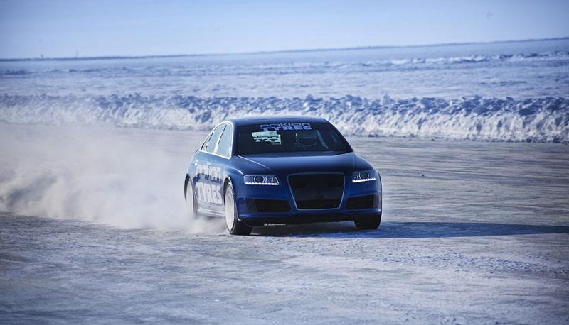Nokian Tyres: rychlostní rekord Bentleye na ledu překonán!: - fotka 8