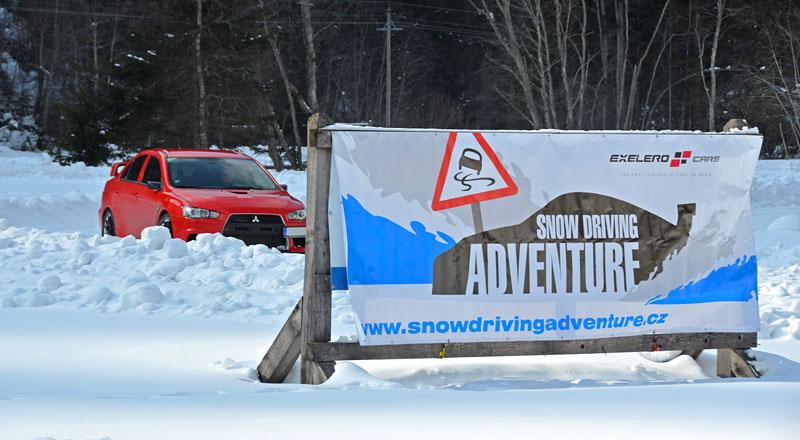 Exelero Cars Snow Driving Adventure 2012: - fotka 4