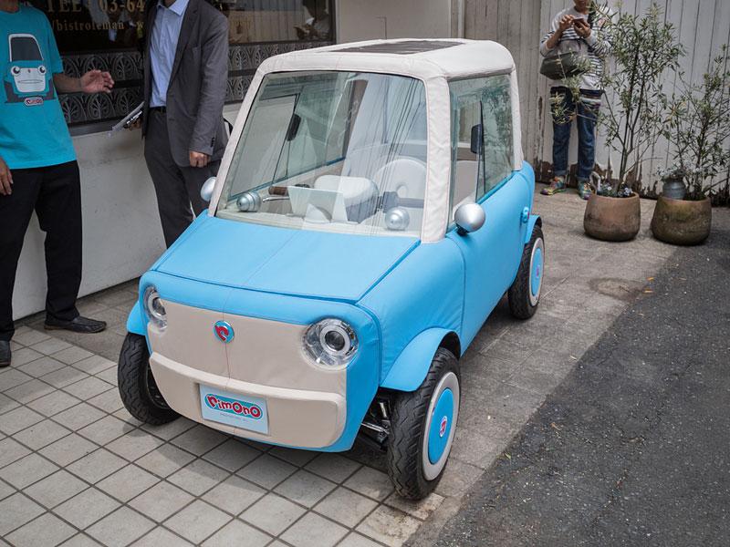 Rimono EV: Elektrický hadraplán z Japonska? Už příští rok: - fotka 9