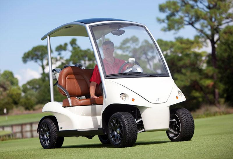 Garia: luxusní vozík pro milovníky golfu: - fotka 17