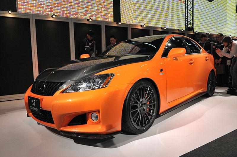 Lexus: IS F jako odlehčený speciál: - fotka 9