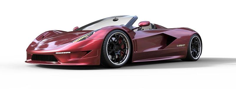 TranStar Dagger GT: supersport s výkonem 2000 koní: - fotka 9