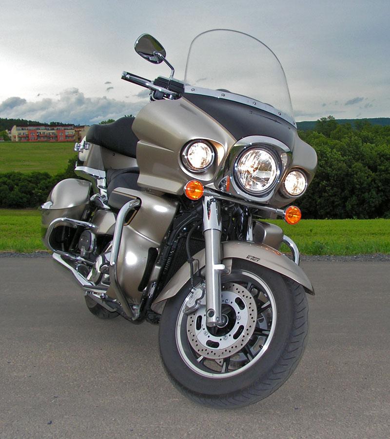 Test: Kawasaki VN1700 Voyager a srovnání s Harley-Davidson Electra Glide: - fotka 13