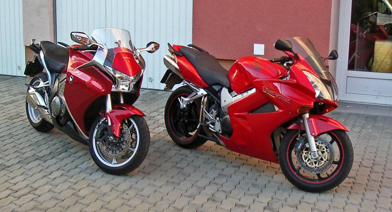 Dueltest - Honda VFR1200F vs. VFR800VTEC (generační srovnání): - fotka 8