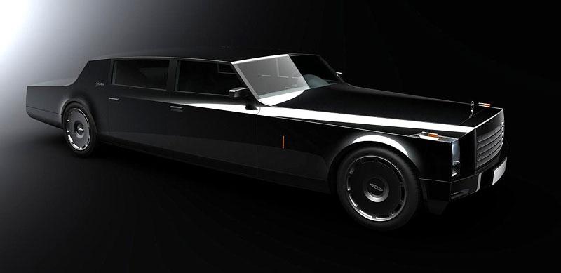 ZiL Concept: budoucnost prezidentských limuzín: - fotka 6