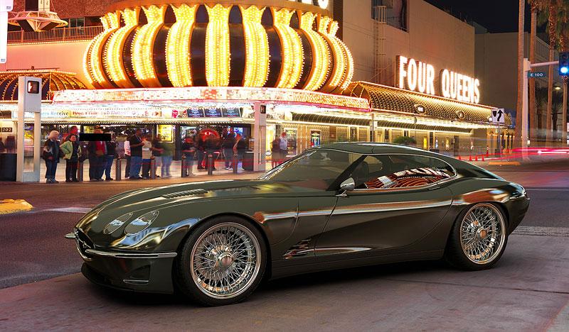 Growler E-Concept: Jaguar E Type 50 let poté: - fotka 5