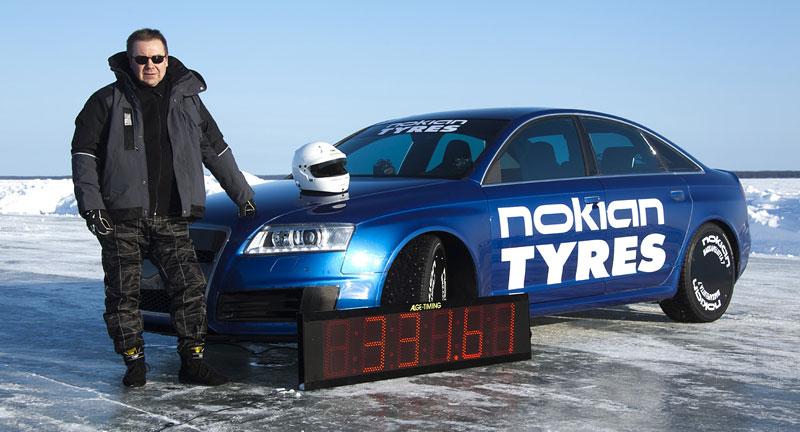 Nokian Tyres: rychlostní rekord Bentleye na ledu překonán!: - fotka 9