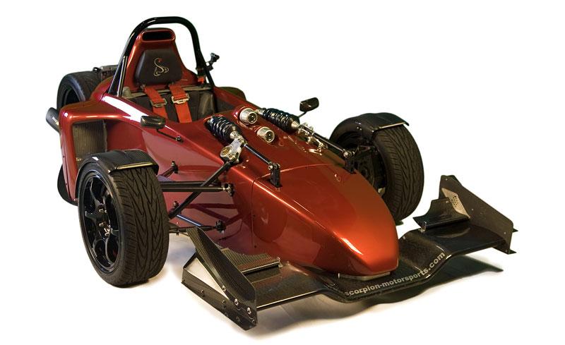 Scorpion P6 - formule nebo tříkolka?: - fotka 17