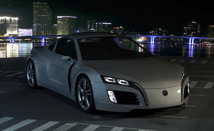 Volkswagen Concept Sports Car: kreace co přijíždí až z Kyrgyzstánu: - fotka 9