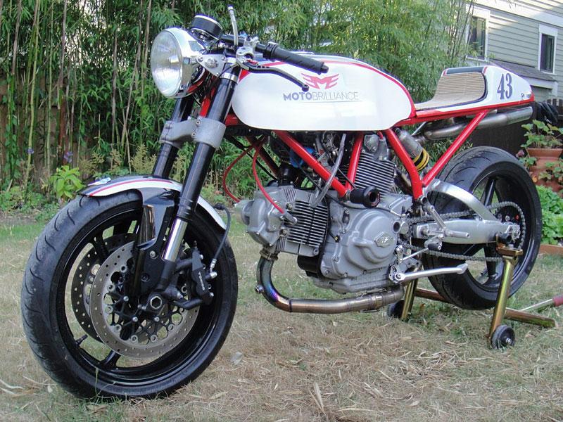 Ducati Cafe Racer od Moto Brilliance: - fotka 5
