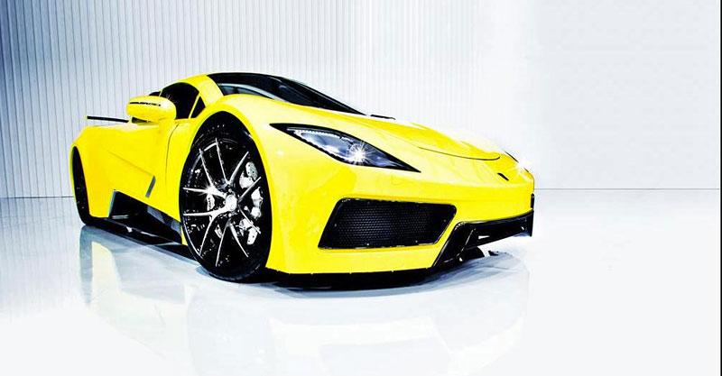 Arash AF8: Britský supersport se 7,0 V8 (410 kW): - fotka 8