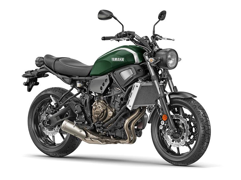 Yamaha XSR700: Rychlý potomek: - fotka 7