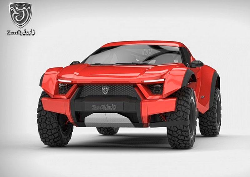 Zarooq Motors Sand Racer: Arabský supersportovní off-road bude mít přes 500 koní: - fotka 6