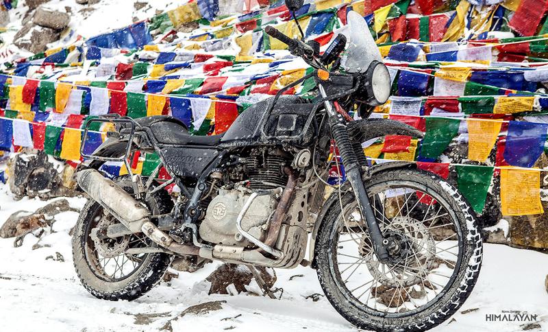 Royal Enfield Himalayan: Terénní revoluce z Čennaí: - fotka 15