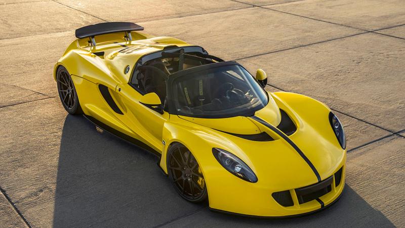Hennessey Venom GT Spyder je nejrychlejší kabriolet na světě: - fotka 10