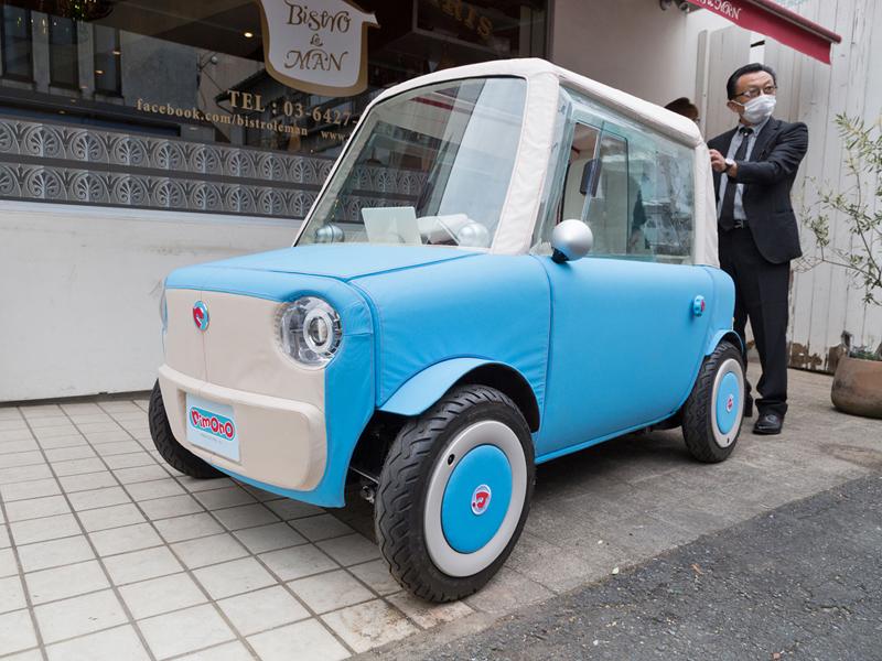 Rimono EV: Elektrický hadraplán z Japonska? Už příští rok: - fotka 10