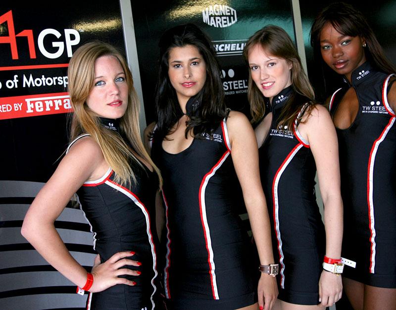 A1GP Grid Girls 2008/2009: - fotka 57