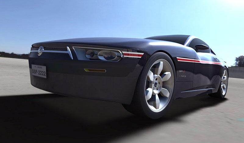 VW SP-2 Concept: Scirocco by mohlo mít sourozence: - fotka 9